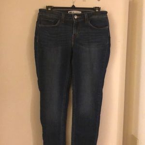 Levi's low rise skinny's